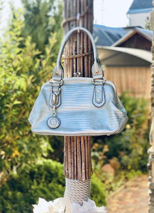 Шикарная сумка anna klein из натуральной кожи