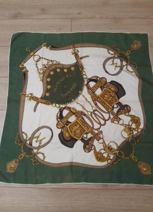 Платок harnais de parade hermes