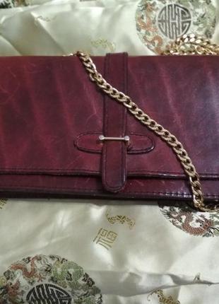 Винтажная кожаная сумка