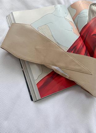 Винтажный кожаный ремень