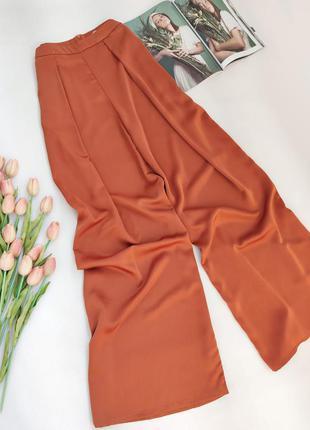 Шикарні брюки палаццо від glamorous розмір l