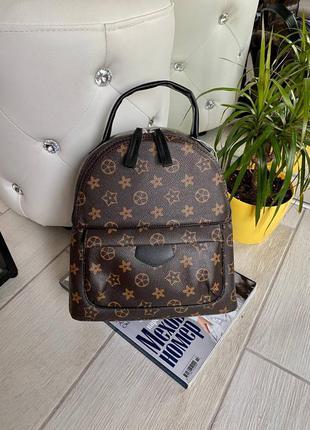 Рюкзак в стиле луи виттон большой