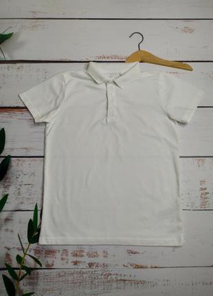 9 лет тениска белая next