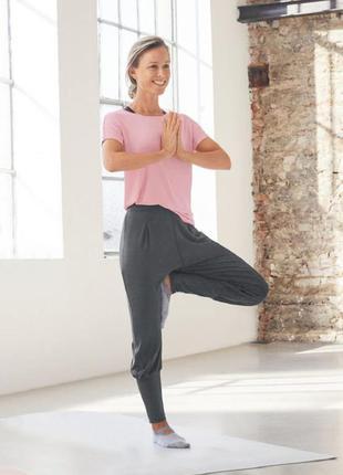Спортивные штаны женские для йоги фитнеса с м crivit