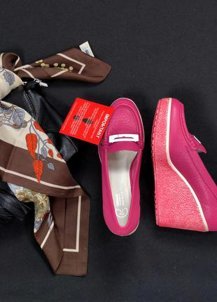 Стильные брендовые туфли лоферы geox by patrick cox этикетка