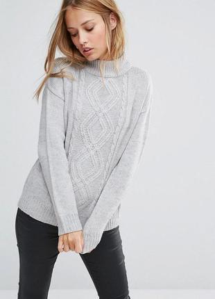 Теплый свитер oversize brave soul