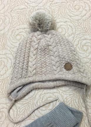 Тёплая новая шапка на флисовой подкладке и многое другое h&m