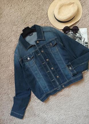 Классная джинсовка/джинсовая куртка/курточка/пиджак/жакет