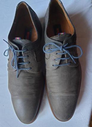 Lloyd кожаные мужские туфли, германия. 43 р.
