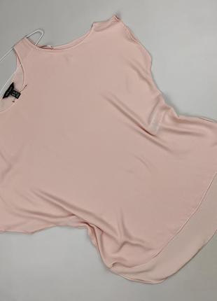 Блуза кремовая базовая с вырезами на плечах new look uk 12/40/m