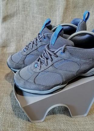 Замшевые кроссовки clarks☀️25 см