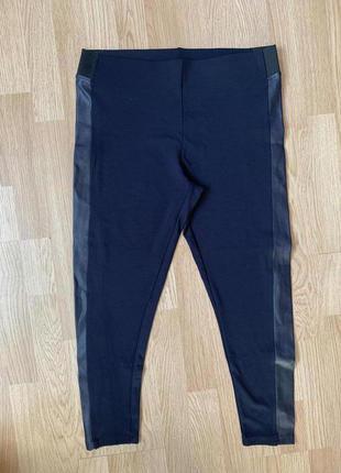 Стрейч вискозные трикотажные брюки-легинсы50р