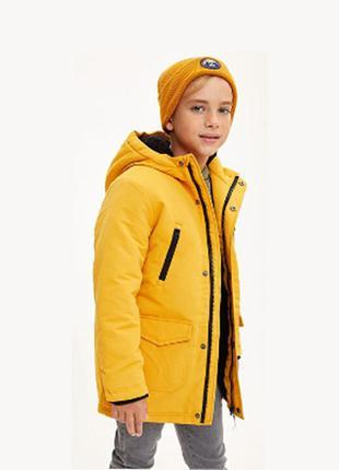 Крутая теплая парка primark 5-6 лет. 116 куртка курточка на меху тепла еврозима деми демисезонная зимняя классная модная стильная овчине роки