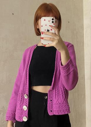 Кардиган рожевий