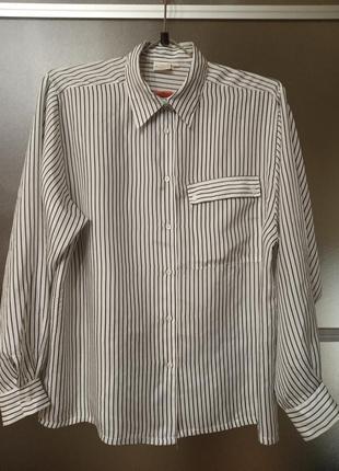 Рубашка 100% шелк