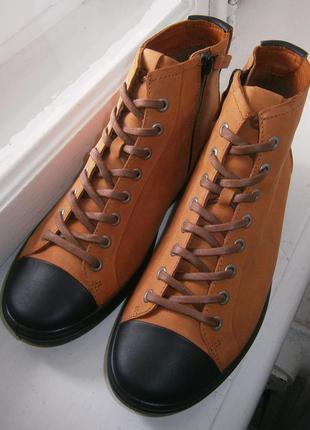 Ботинки ecco soft 7 440403 оригинал натуральний нубук