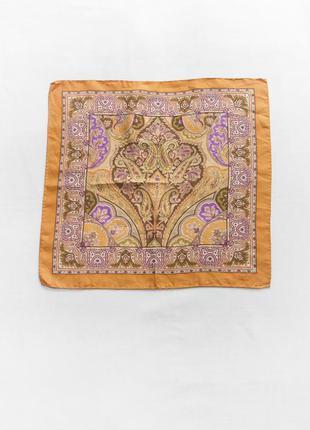 Шелковый платок etro, italy