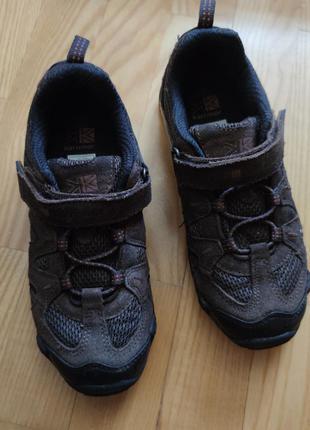 Кроссовки кожаные кросівки шкіряні 34 karrimor