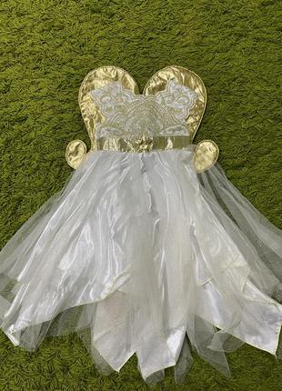 Платье ангел на3-4года
