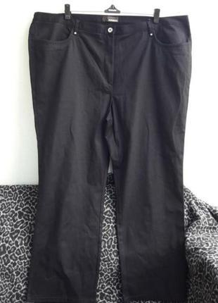 Прямые стрейчевые джинсы джинсовые брюки