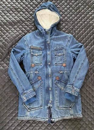 Джинсова куртка,джинсовая,джинсовий плащ,джинсовка,джинсовый
