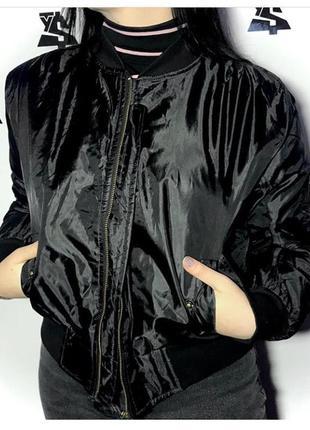 Куртка бомбер лёгкая и комфортная