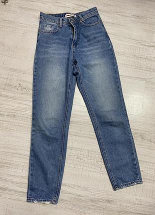 Мом/джинсы mom/ штаны бананы