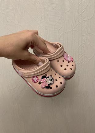 Детские crocs , с7 (23 р)