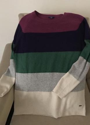 Теплый качественный свитер tom tailor