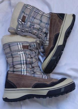 Зимові чобітки теплі ботинки зимние sympatex