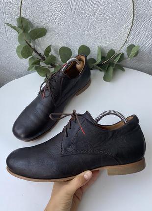 Кожаные туфли think
