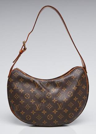 Кожаная сумка 👜 винтаж багет оригинал