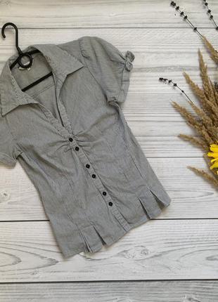 Офисная блуза, женская рубашка, офисная рубашка