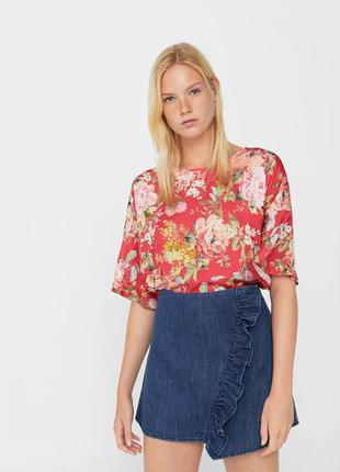 Блузка футболка mango