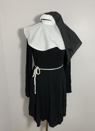 Монашка монахиня костюм карнавальный