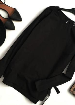Шикарная хлопковая блуза с интересными рукавчиками