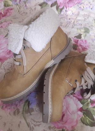 C&a palomino теплые ботинки 32 размер с овчиной ⭐️
