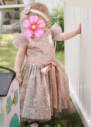 Сукня для дівчинки на 1 рік