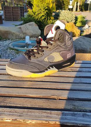 Nike air jordan 5 23 number кроссовки мужские