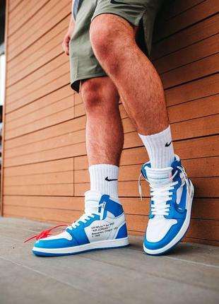 Мужские кроссовки nike air jordan off-white