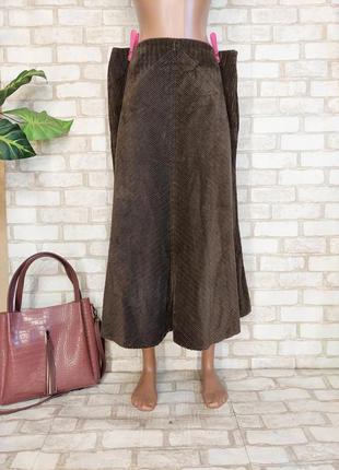 """Фирменная юбка в пол годе со 100 % хлопка в рисунок """"елочка"""", размер хл"""