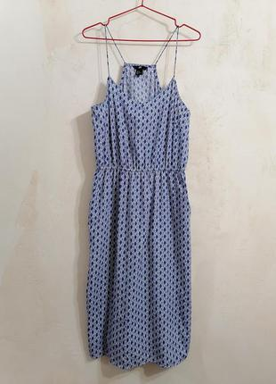 Сукня міді з карманами