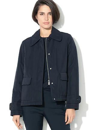 Брендовая утепленная дышащая куртка geox respira evodown вьетнам navy этикетка