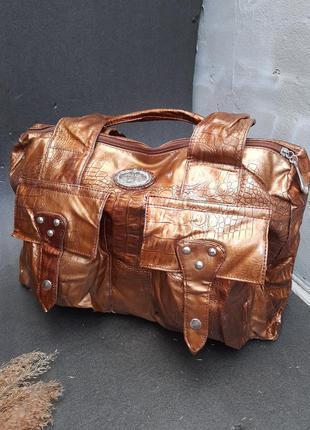 Стильна велика жіноча сумка сумочка розпродаж уцінка