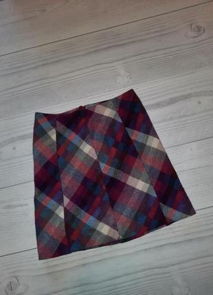 Теплая юбка шерсть
