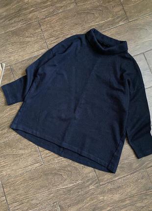 Красивый шерстяной свитер/блуза