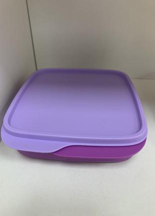 Детская посуда эко с разделителем tupperware