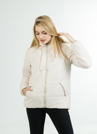 Полуспортивная демисезонная куртка для девушки