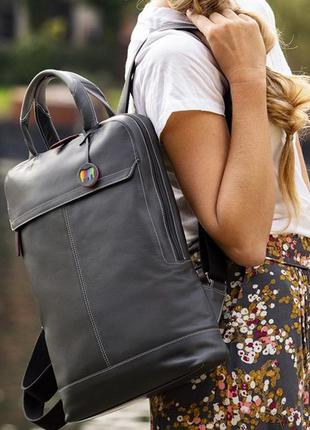 Кожаный рюкзак кожаная сумка mywalit / шкіряний рюкзак