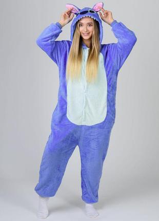 Кигурумы стич пижамка